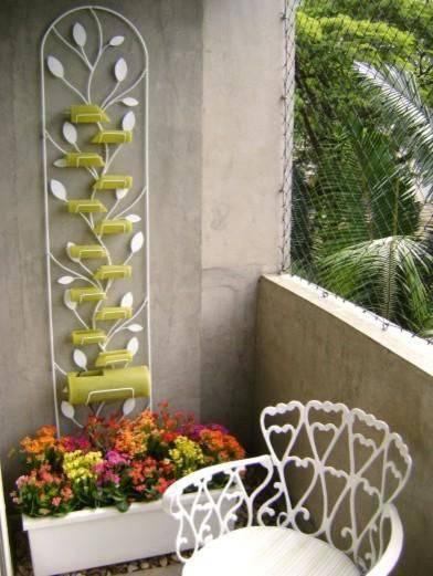 cadeiras varanda com jardim ferro mc3 arquitetura 97069