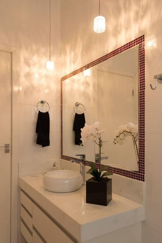 espelho para banheiro com pastilha adesiva SA engenharia e arquitetura 140220