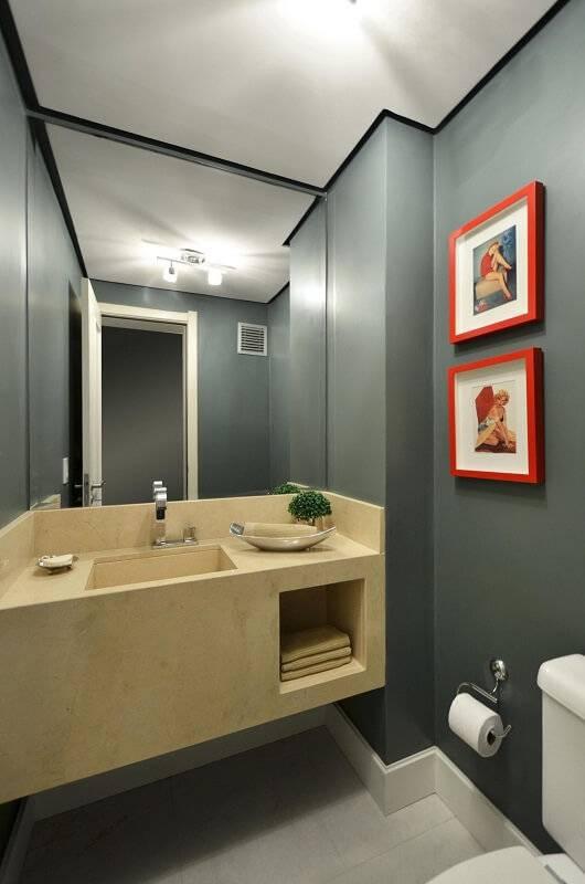 espelho para banheiro total alessandra bonotto 16862