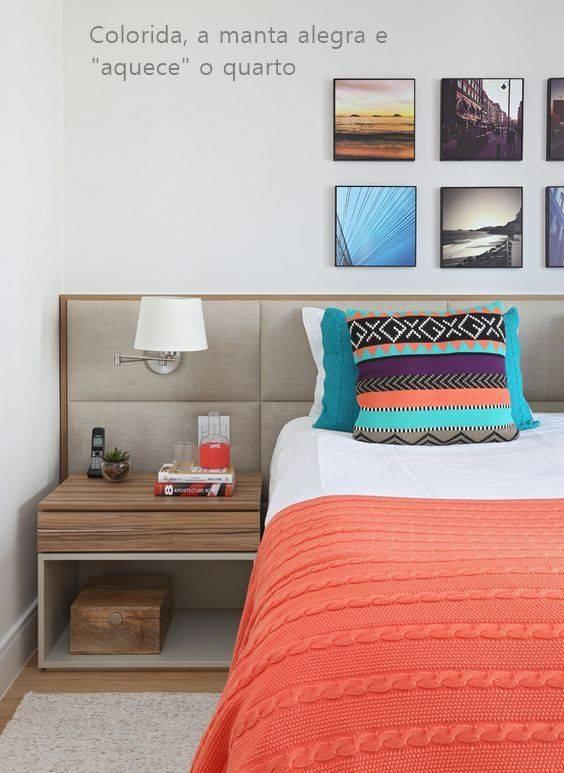 quartos decorados pinterest manta colorida