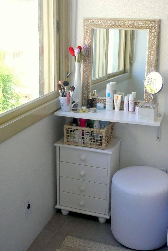 quarto decorado pinterest penteadeira