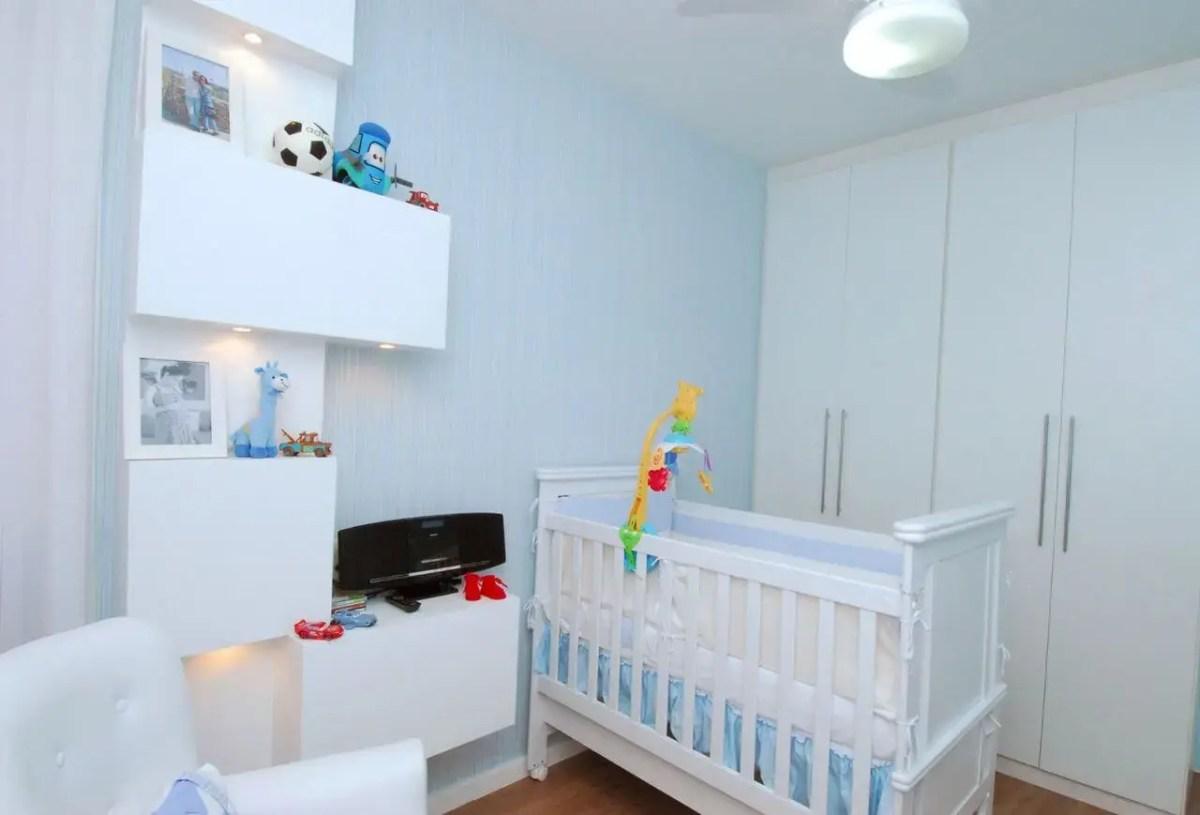 50 Formas De Fazer Decora O De Quarto De Beb Dicas E Inspira O  ~ Quarto Bebe Masculino Azul Marinho