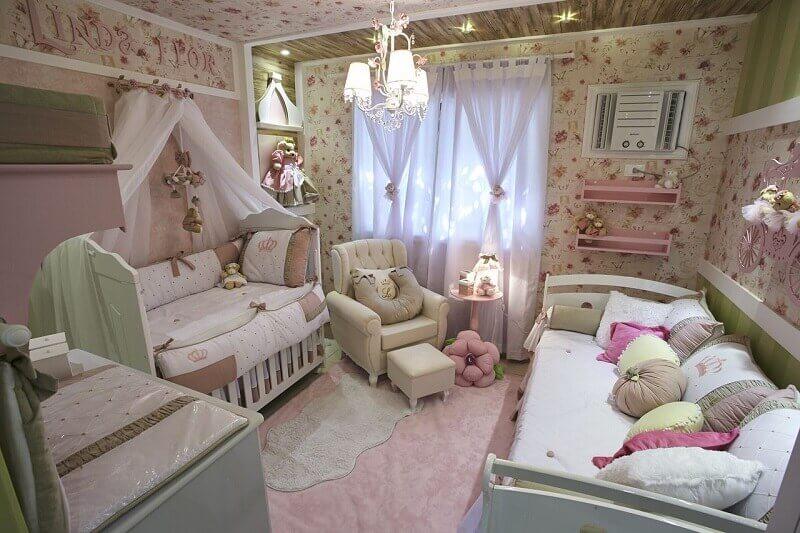 Decoração lúdica para quarto de princesa
