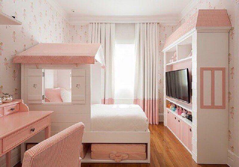 decoração lúdica quarto de princesa