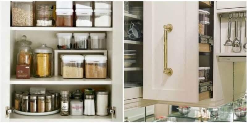 como organizar a cozinha - temperos