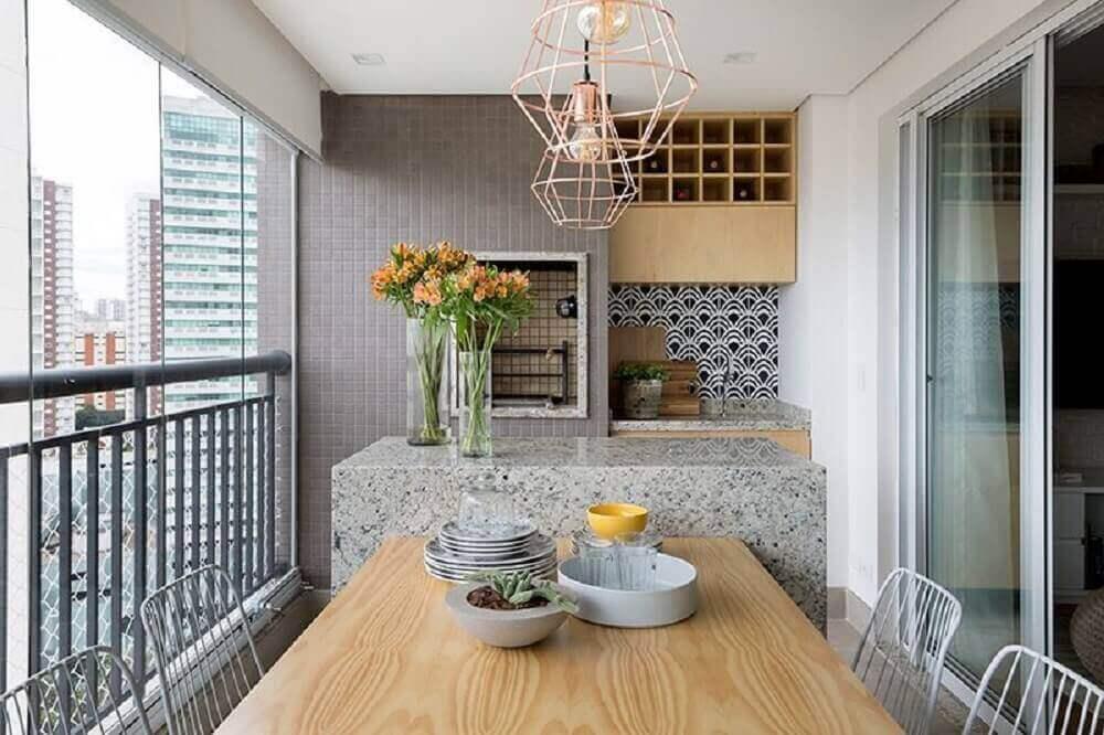 decoração varanda gourmet varanda com churrasqueira