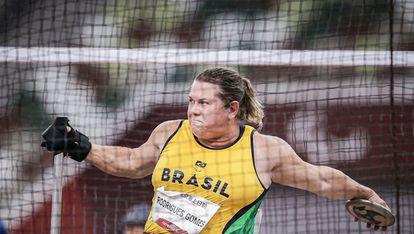 Beth Gomes bate o recorde mundial e fatura a medalha de ouro em Tóquio.