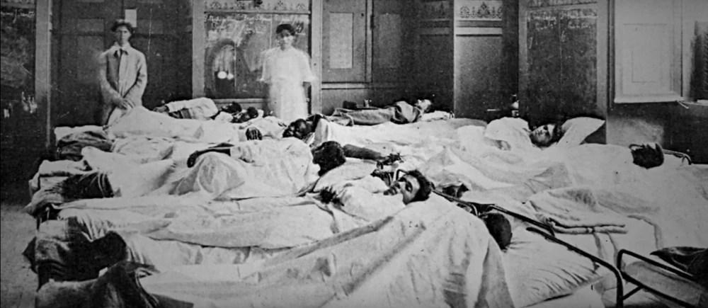 Em 1918, gripe espanhola espalhou morte e pânico e gerou a semente do SUS
