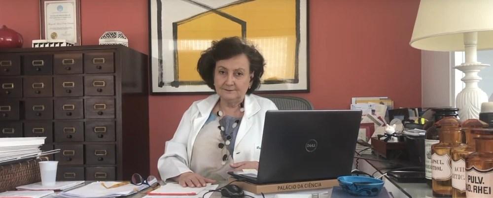 """Margareth Dalcolmo: """"O isolamento social severo e o SUS são as grandes armas do Brasil contra a pandemia"""""""