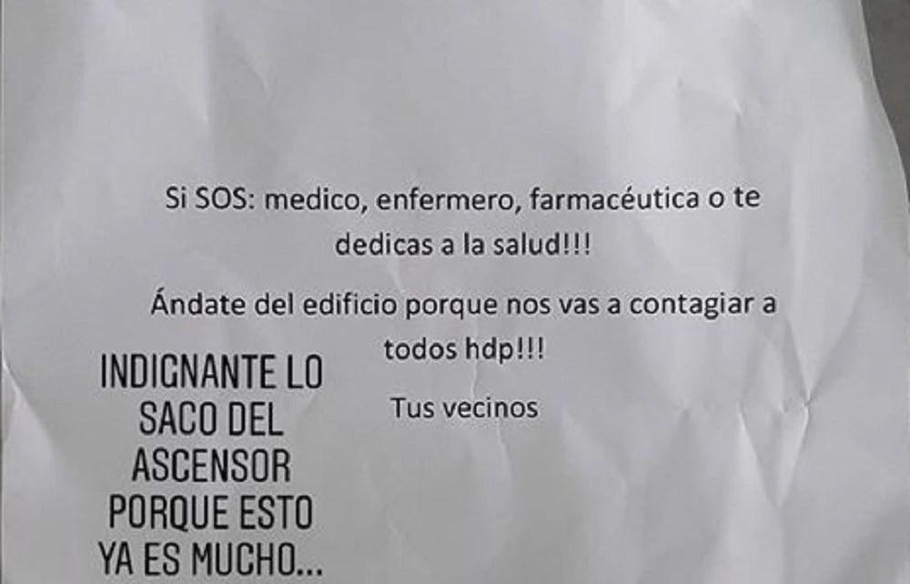 """""""Sai daqui ou você vai nos contagiar, seu filho da..."""": médicos argentinos sofrem o repúdio de seus vizinhos"""