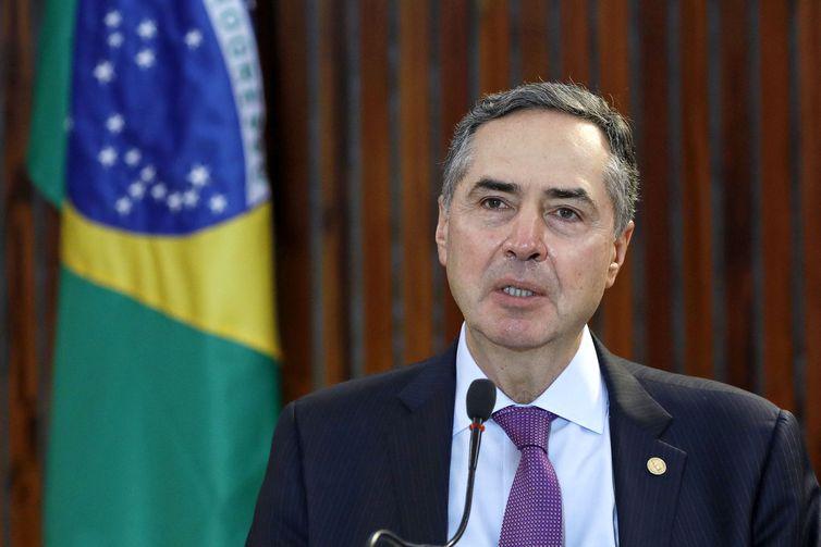 Entrevista coletiva do ministro Roberto Barroso por videoconferência. Brasília-DF, 26/05/2020Foto: Roberto Jayme/ASCOM/TSE