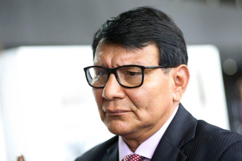 Brasília - O presidente da Funai, Franklimberg Ribeiro de Freitas, durante a abertura da Semana do Índio (Marcelo Camargo/Agência Brasil)