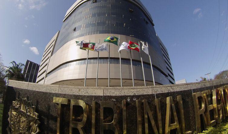 Porto Alegre - Prédio-sede do Tribunal Regional Federal da 4ª Região, em Porto Alegre (Sylvio Sirangelo/TRF4)