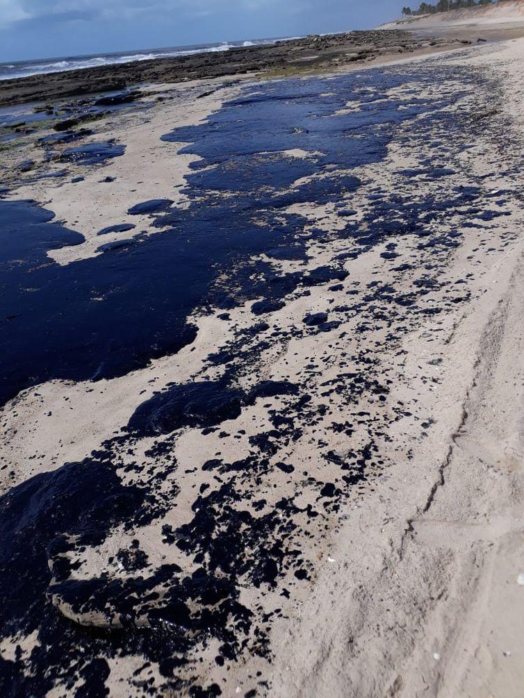Petrobras resíduos de óleo praias do Nordeste