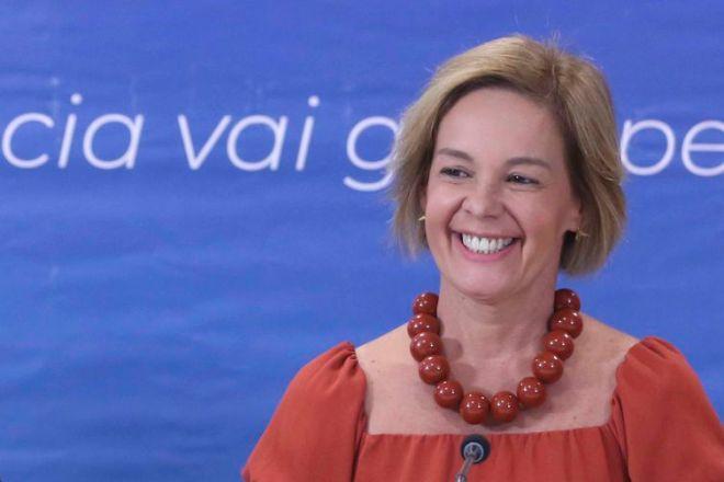A professora Vandete Pereira Lima durante lançamento da 12ª edição do Prêmio Professores do Brasil.