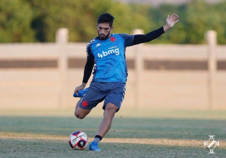 Andrey, jogador do Vasco