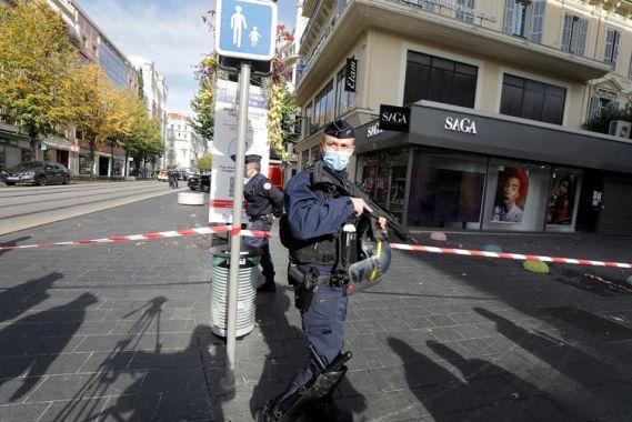 Relatado ataque de faca na cidade francesa de Nice
