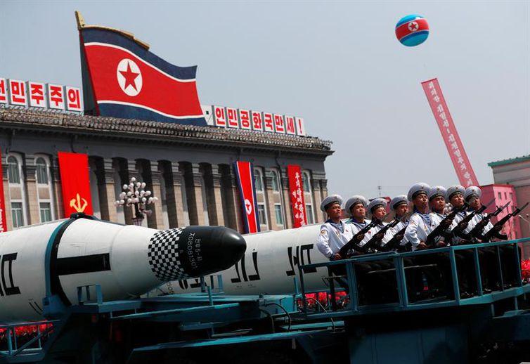 Coreia do Norte diz que está pronta para confronto nuclear contra os EUA