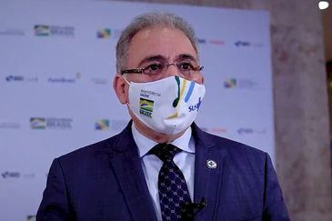 Fórum de Investimentos Brasil 2021,  ministro Marcelo Queiroga apresentou algumas oportunidades na saúde pública e suplementar.