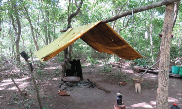 Flagrante de escravidão moderna em Mato Grosso do Sul, no município de Porto Murtinho.