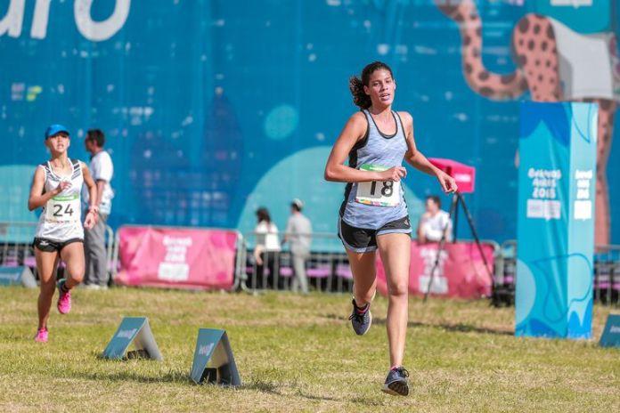 Iêda Guimarães - atleta do pentatlo durante as competições do pentatlo moderno nos Jogos Olímpicos da Juventude Buenos Aires 2018.