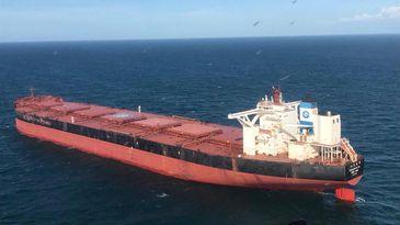 Seis pessoas a bordo do navio testaram positivo