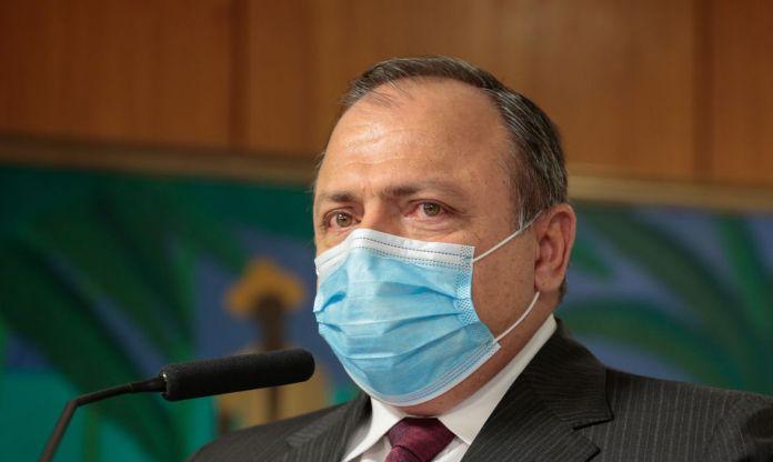 (Brasília - DF, 06/08/2020) Palavras do Ministro interino da Saúde,  Eduardo Pazuello.Foto: Carolina Antunes/PR