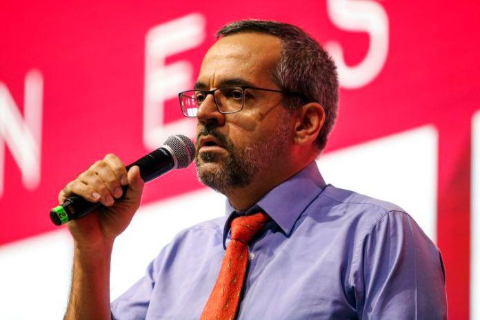 O ministro da Educação, Abraham Weintraub, participa do 21º Fórum Nacional do Ensino Superior Particular Brasileiro - FNESP, no World Trade Center São Paulo.