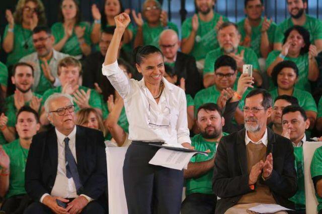 Marina Silva e Eduardo Jorge participam de convenção da REDE (Fabio Rodrigues Pozzebom/Agência Brasil)