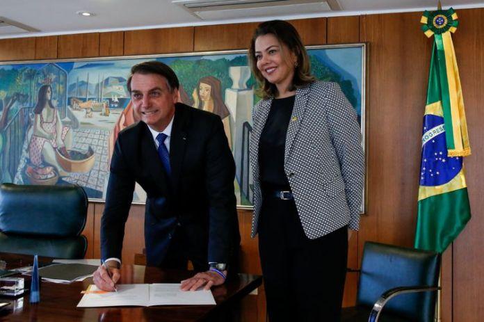 Presidente da Republica, Jairo Bolsonaro, Senadora Leila Barros