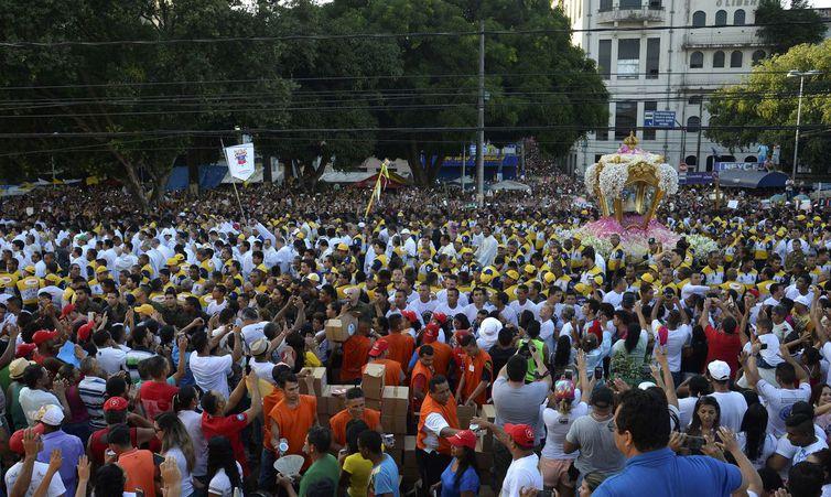 Agência Brasil 30 Anos - Círio de Nazaré, grande procissão rumo a Praça Santuário de Nazaré