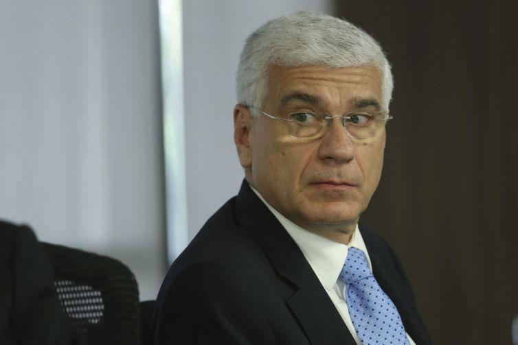 O secretário da Receita Federal, Jorge Rachid, faz palestra sobre o tema Reforma e Simplificação: Os Desafios da Administração Tributária, durante o evento Diálogo Público - Reforma e Simplificação Tributária, promovido pelo TCU.