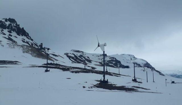 Estação Comandante Ferraz na Antártica