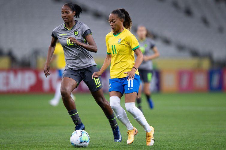 Seleção feminina tentará uma das 32 vagas para o mundial de 2023.
