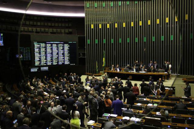 O Plenário da Câmara dos Deputados, começa a votar os destaques da Medida Provisória 881/19