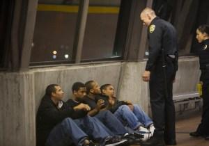 Ação policial na estação Fruitvale