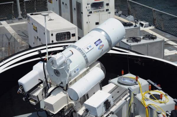 Laser gigante da Marinha