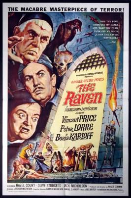 Poster de O Corvo de Roger Corman