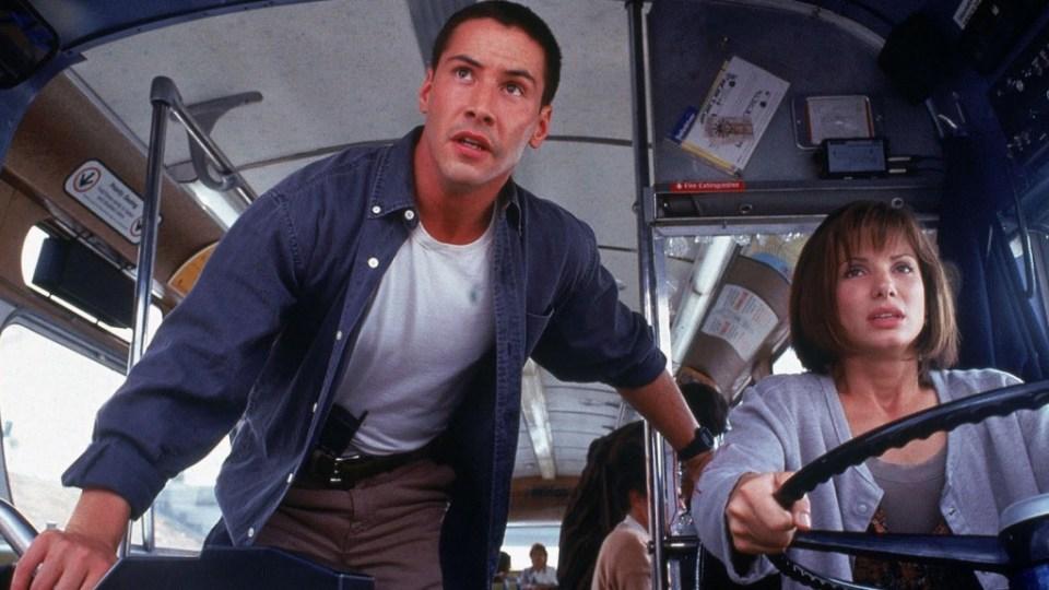 Keanu e Sandra Bullock em 1994!