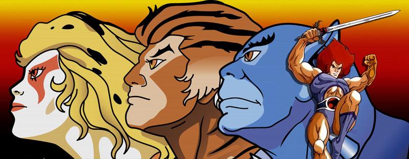 O conceito apareceu em Thundercats lodo depois!