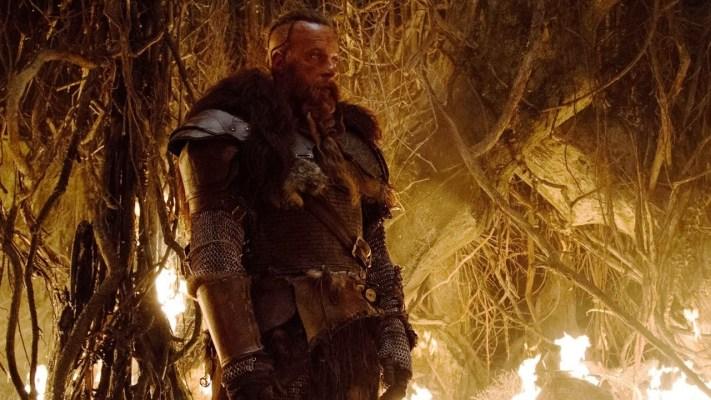 O barbudo Vin Diesel na caça!