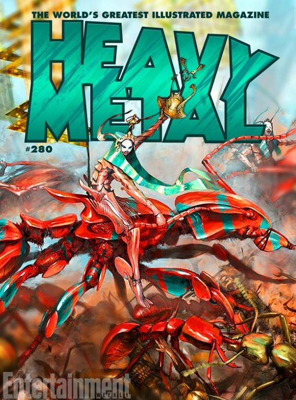 Heavy Metal - Grant Morrison