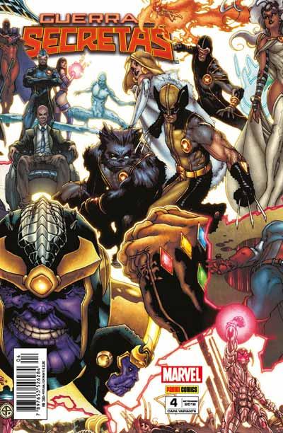 Checklist Marvel - Guerras Secretas - Setembro/2016