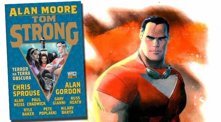 Tom Strong: Terror na Terra Obscura