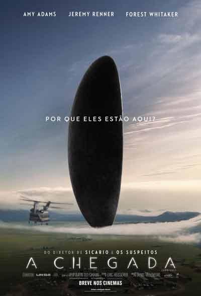 O filme A Chegada, de Denis Villeneuve, é um primor narrativo e técnico