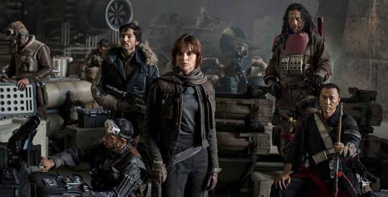 Os rebeldes de Rogue One que inspiraram essa lista!