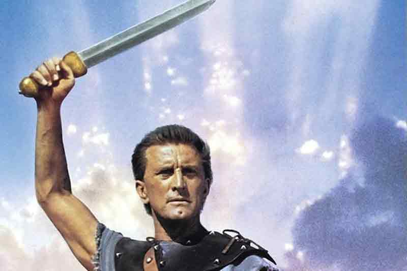 Kirk Douglas tocou o terror no Império Romano!