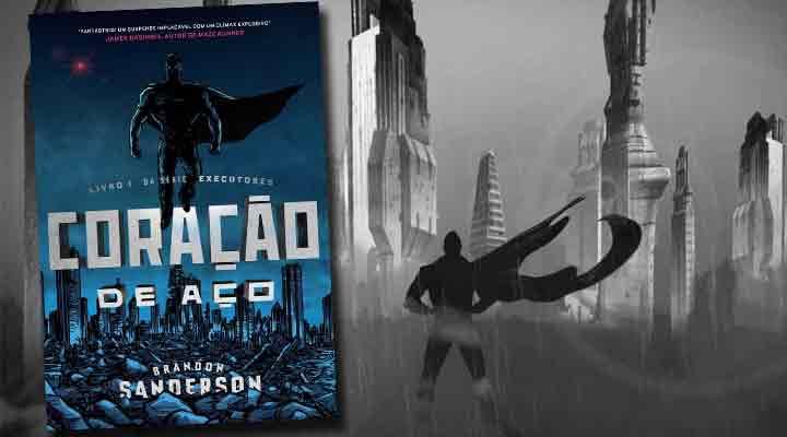 Coração de Aço, primeiro livro da trilogia que a Aleph lança no Brasil