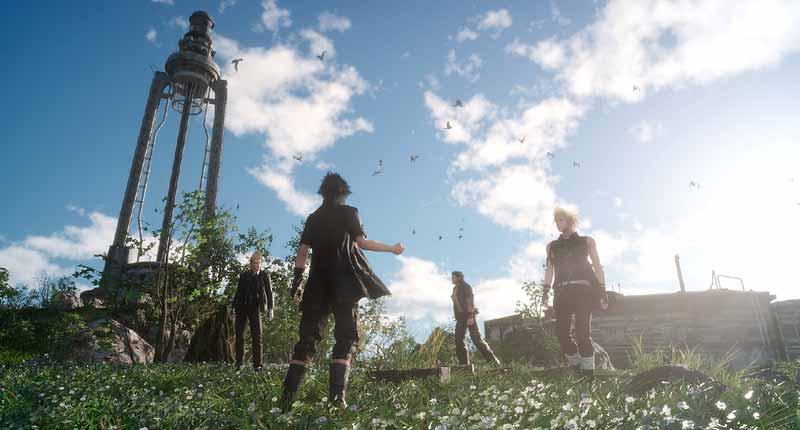 A qualidade visual de Final Fantasy XV é indiscutível.