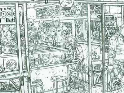 Lead Poisoning: The Pencil Art of Geof Darrow